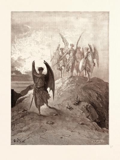 Satan Vanquished-Gustave Dore-Giclee Print
