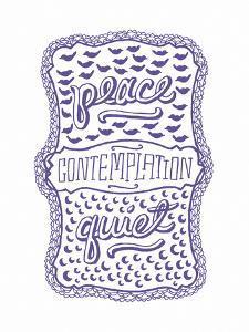 Venn by Pen: Peace, Quiet, Contemplation by Satchel & Sage