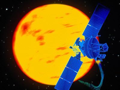 Satellite Around the Sun-Greg Smith-Photographic Print