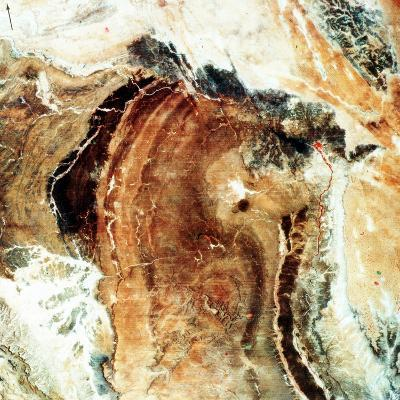 Satellite Photograph of Great Namaland, Namibia, 1972--Photographic Print