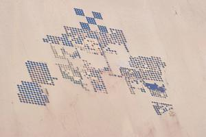 Satellite view of fields in Shamal Darfur, Sudan