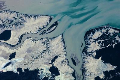 Satellite view of Prince Regent River, Western Australia, Australia--Photographic Print