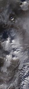 Satellite View of Russia's Kamchatka Peninsula