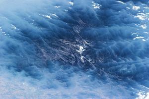 Satellite view of Venezuelan Valley in South America