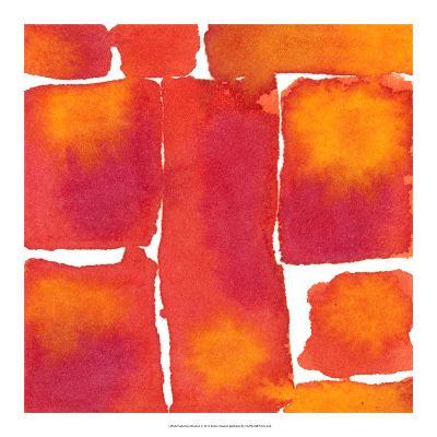 Saturated Blocks I-Renee W^ Stramel-Giclee Print