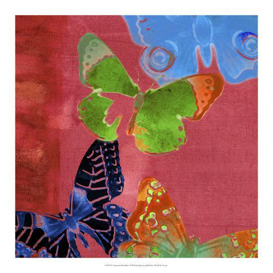 Saturated Butterflies I-Sisa Jasper-Art Print