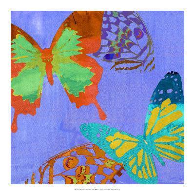 Saturated Butterflies IV-Sisa Jasper-Art Print