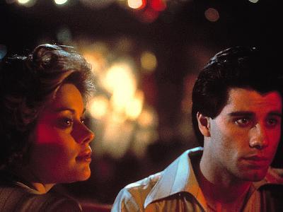 Saturday Night Fever, Donna Pescow, John Travolta, 1977--Photo
