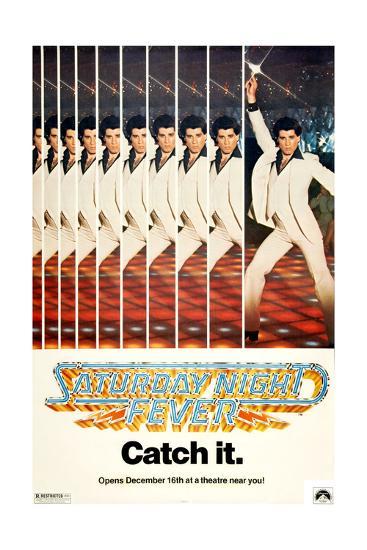 Saturday Night Fever, John Travolta, 1977--Giclee Print