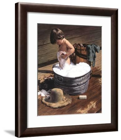 Saturday Night-Jim Daly-Framed Art Print