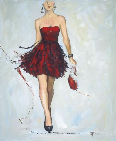 Saturday Night-Joyce Fournier-Art Print
