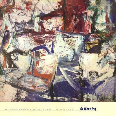 Saturday Night-Willem de Kooning-Art Print