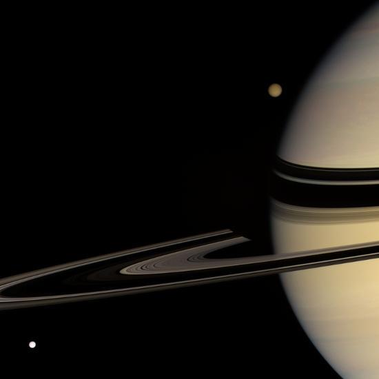 Saturn, Cassini Image--Photographic Print