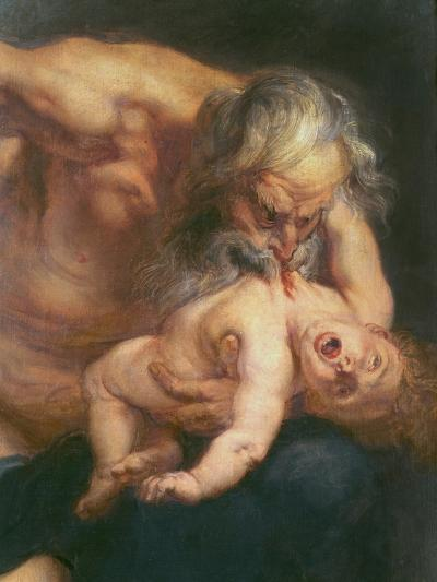 Saturn Devouring His Son, 1636-Peter Paul Rubens-Giclee Print