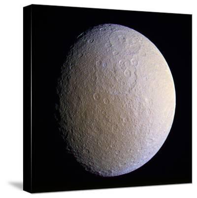 Saturn's Moon Rhea, Cassini Image
