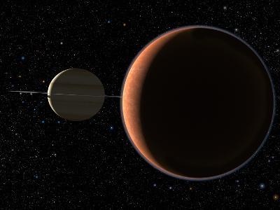 Saturn's Moon Titan-Chris Butler-Photographic Print