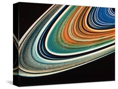 Saturn's Rings, Close-Up.