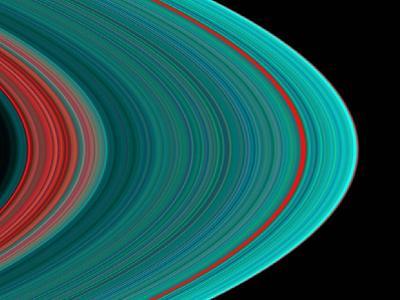 Saturn's Rings--Photographic Print