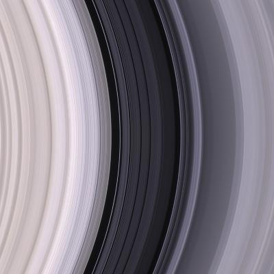 Saturn's Rings-Michael Benson-Photographic Print