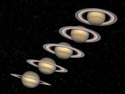 Saturn--Photographic Print