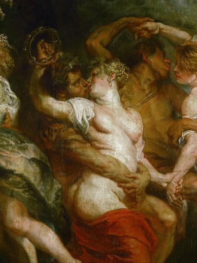 Satyr Embracing a Bacchante-Peter Paul Rubens-Giclee Print