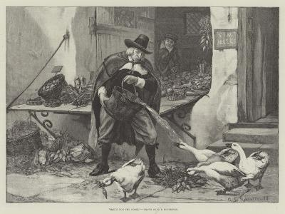Sauce for the Goose-George Edward Robertson-Giclee Print