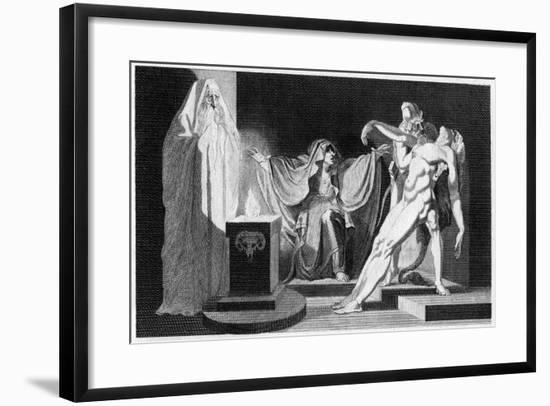 Saul and the Witch of Endor, 1792-Henry Fuseli-Framed Giclee Print