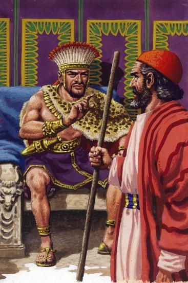 Saul Appearing before Samuel-Pat Nicolle-Giclee Print