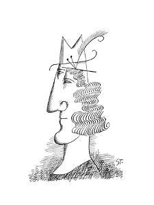 Cartoon by Saul Steinberg
