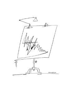 Cartoon by Saul Steinberg