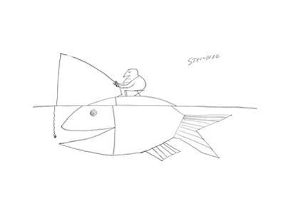 New Yorker Cartoon by Saul Steinberg