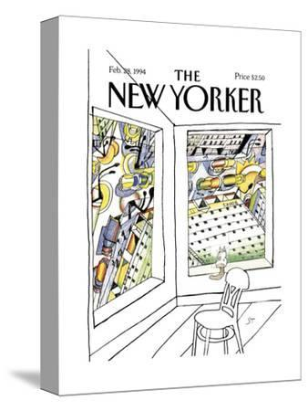 The New Yorker Cover - February 28, 1994