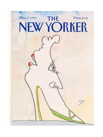 The New Yorker Cover - May 17, 1993 by Saul Steinberg