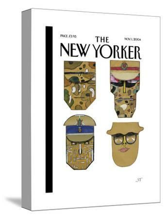 The New Yorker Cover - November 1, 2004