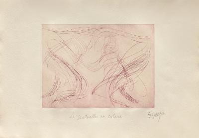 Sauterelles en Colere-Jean Messagier-Limited Edition