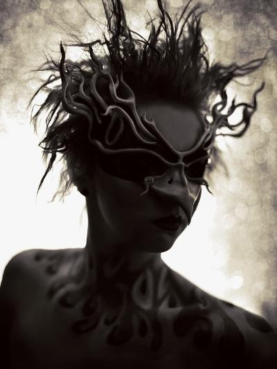 Savage Garden-Winter Wolf Studios-Photographic Print