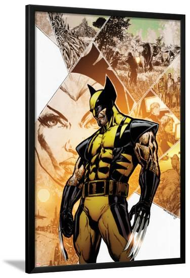 Savage Wolverine #12 Cover: Wolverine-Phil Jimenez-Lamina Framed Poster