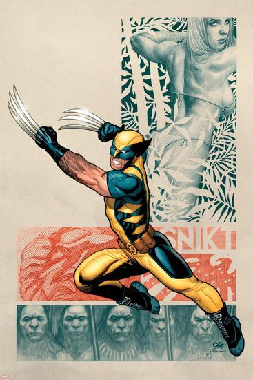 Savage Wolverine No. 1: Wolverine, Shanna the She-Devil--Art Print