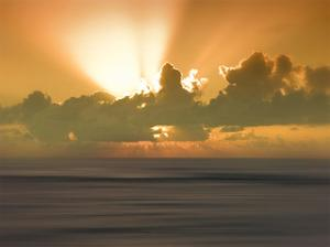 USA, Hawaii, Kauai, sunset by Savanah Plank