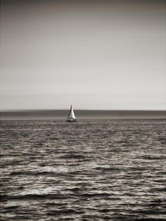 USA, Seattle, sailboat in Elli