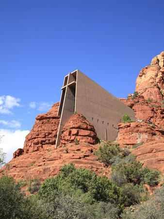 Chapel of the Holy Cross by Marguerite Brunswig Staude, Red Rock Country, Sedona, Arizona, Usa