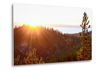 Nevada, Lake Tahoe at Sunset