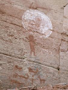 Petroglyph Rock Art, Palatki Ruins, Sedona, Arizona, Usa by Savanah Stewart