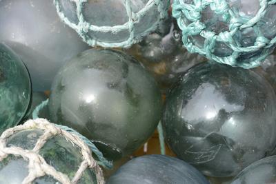 USA, Alaska, Ketchikan, Antique Japanese Glass Fishing Floats
