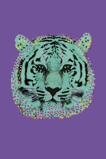 Savane Tiger--Giclee Print