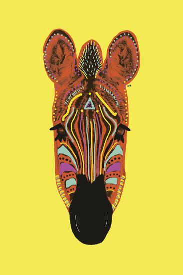 Savane Zebra-Emilie Ramon-Art Print
