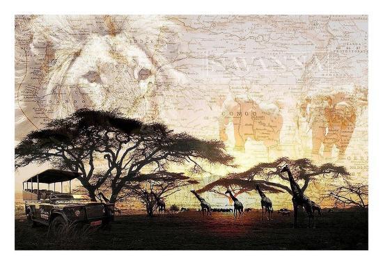 Savanna-GraphINC-Art Print