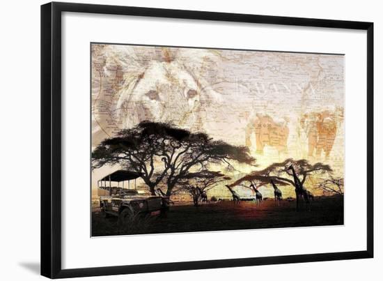 Savanna-GraphINC-Framed Art Print