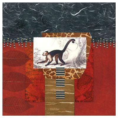 Savannah Monkey-Bryan Martin-Art Print
