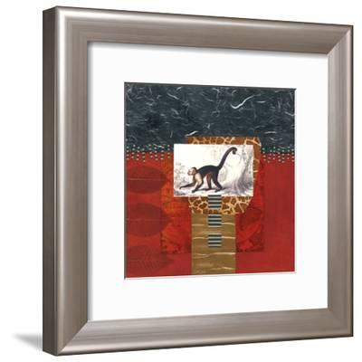 Savannah Monkey-Bryan Martin-Framed Art Print